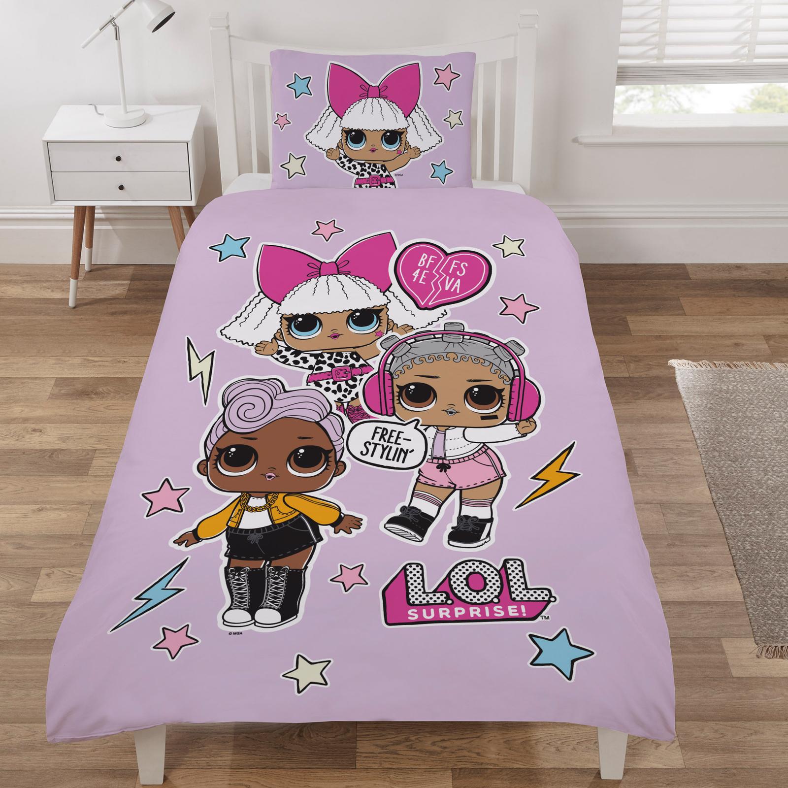 Buy LOL Surprise Bedding Set Single